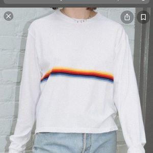 Brandy Melville rainbow top